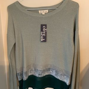 Never Worn! Olive and Oak Sweater